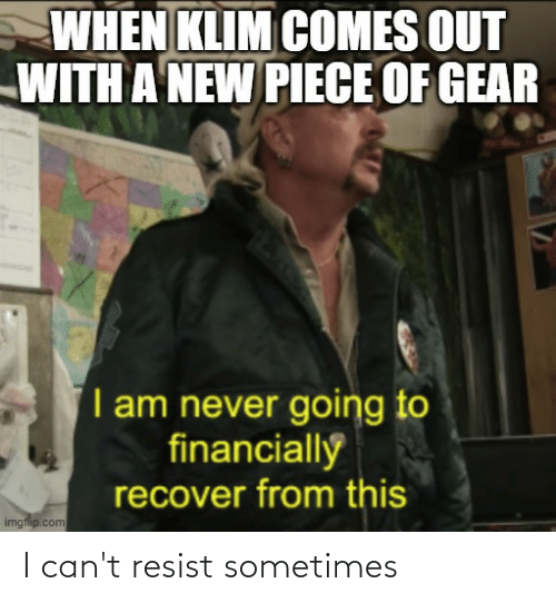 Motorcycle: I can't resist sometimes