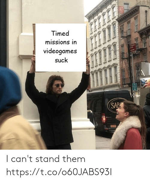 stand: I can't stand them https://t.co/o60JABS93I