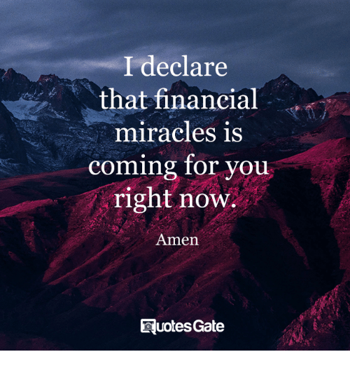 Minging: I declare  that financial  miracles is  ming for you  right now.  co  Amen  EluotesGate
