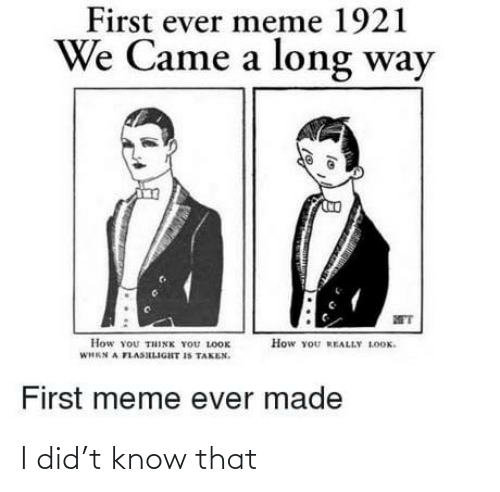 i did: I did't know that