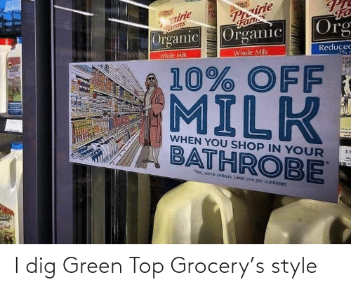 Grocery: I dig Green Top Grocery's style