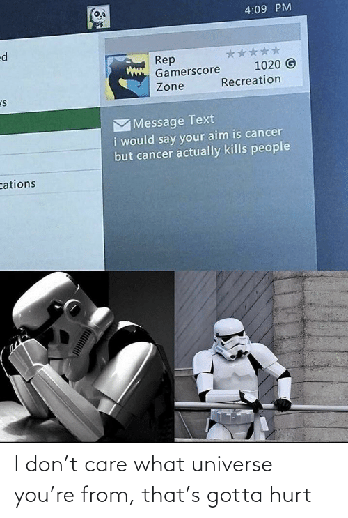 Star Wars: I don't care what universe you're from, that's gotta hurt