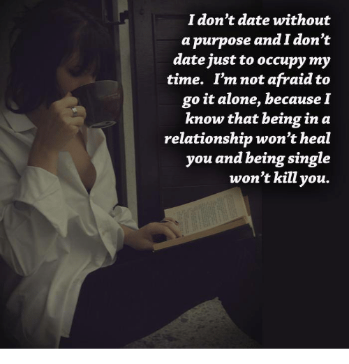 Going to speed dating alone