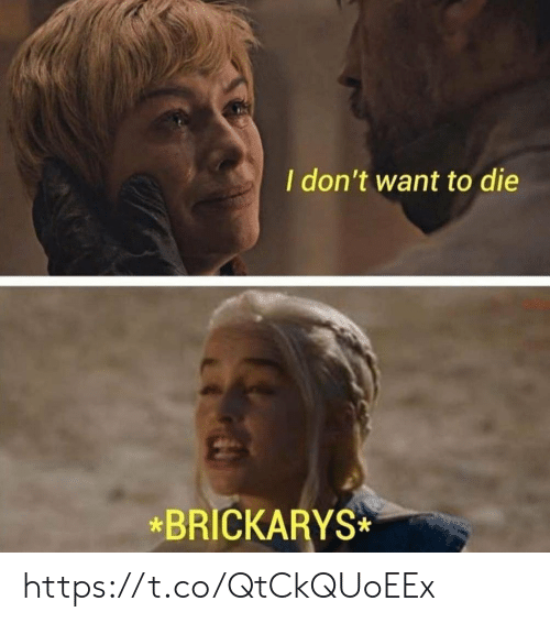 want-to-die: I don't want to die  *BRICKARYS https://t.co/QtCkQUoEEx
