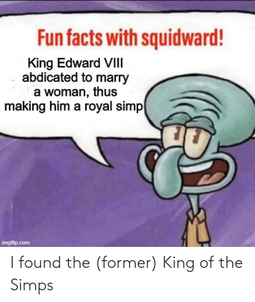 King Of: I found the (former) King of the Simps