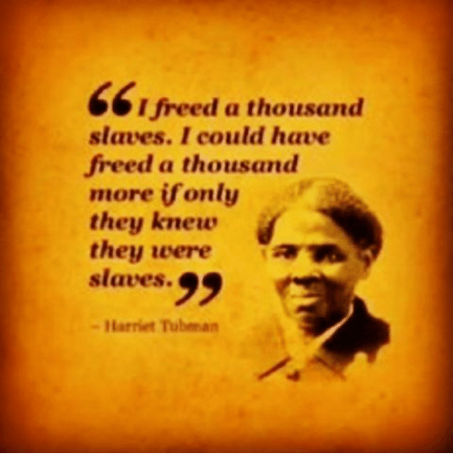 an introduction to the history of ending slavery hariet tubman Harriet tubman is sometimes referred to as the moses of her people because of the way she led them out of slavery of the underground railroad was harriet tubman.