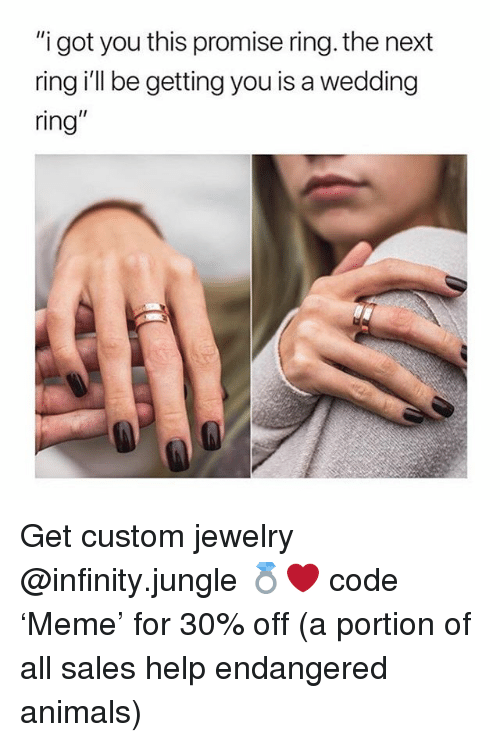 Showing Off Wedding Ring Meme