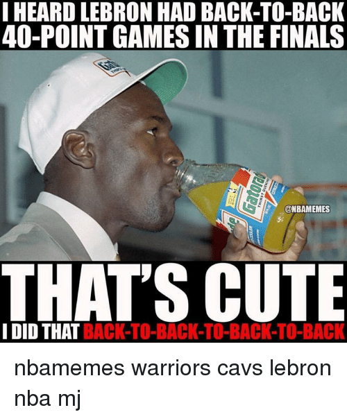I HEARD LEBRON HAD BACK-TO-BACK 40-Point GAMES IN THE