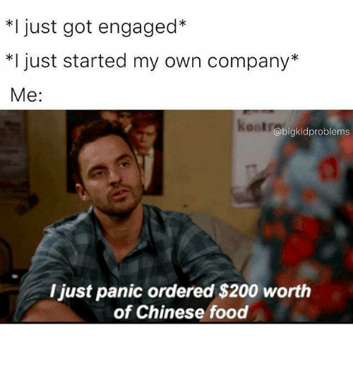 Just Got Engaged Now What: 25+ Best Memes About Chinese Food