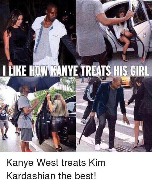 Kardashian, Celebrities, and Kim: I LIKE HOW KANYE TREATS HIS GIRL Kanye West treats Kim Kardashian the best!