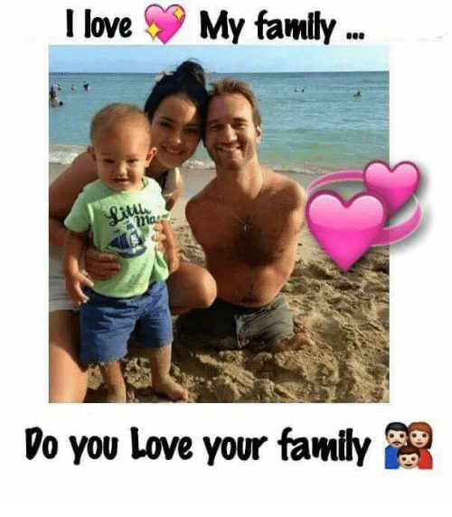 Love My Family: I love My family  mat  Vo you love your family