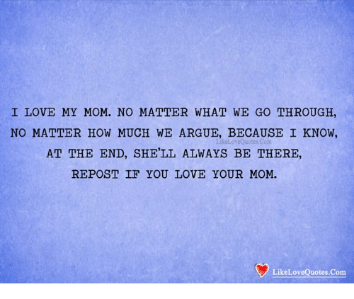 I Love You Quotes: 25+ Best Memes About Love My Mom