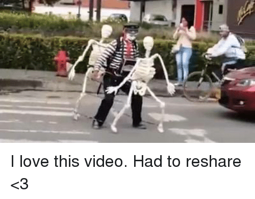 Reshare: I love this video. Had to reshare <3
