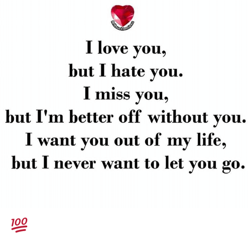 25+ Best Memes About I Love You But I Hate You