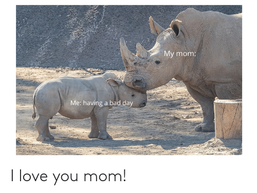 You Mom: I love you mom!