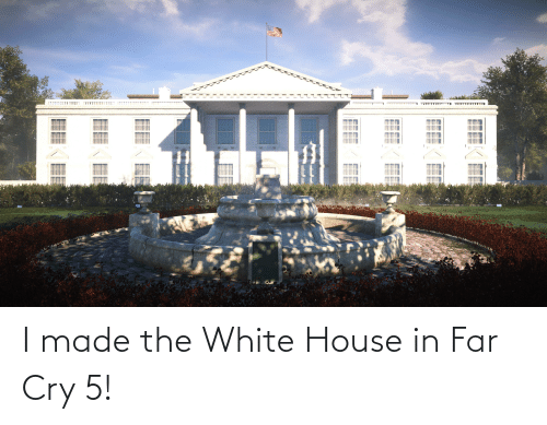 White House: I made the White House in Far Cry 5!