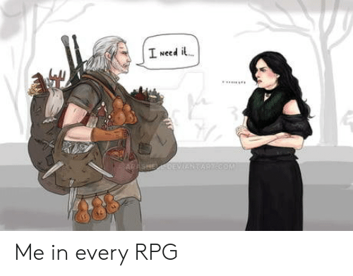 Com, Rpg, and  Need: I Need i  ARASHEDEVANT  COM Me in every RPG