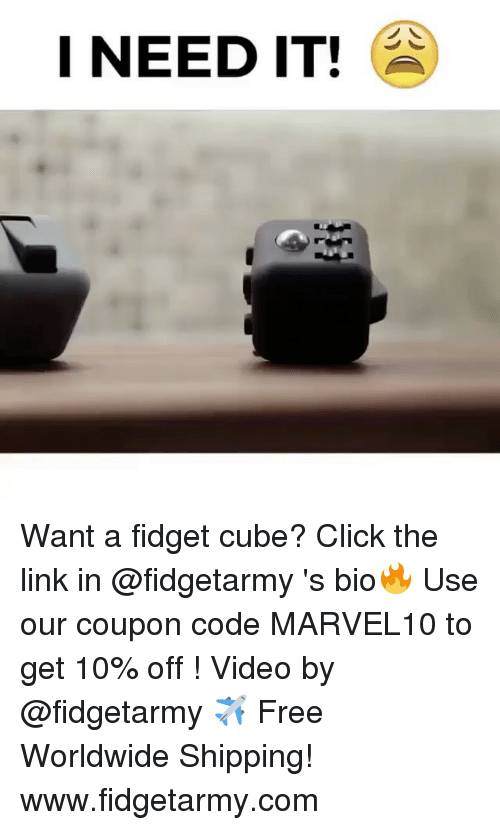 i need it want a fidget cube click the link 16518592 meme london coupon code spelling test freebies