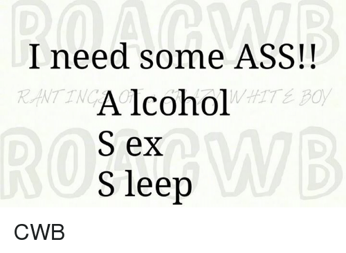 Need some sex