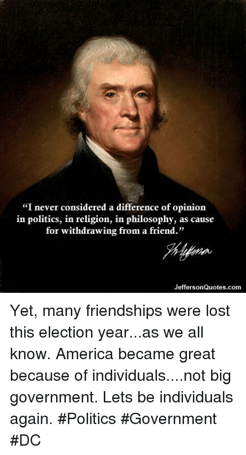 difference of opinion in american politics essay Home → sparknotes → us government and politics study guides → political culture and public opinion political culture and public opinion table of contents.