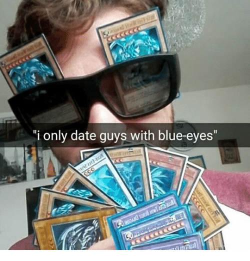 dating blue eyes