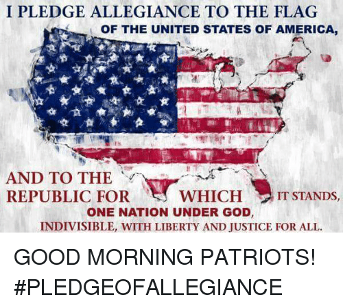the history of the united states pledge Pledge of allegiance to the flag of the united states  some history about the  pledge of allegiance (source: wwwushistoryorg) the pledge of allegiance.