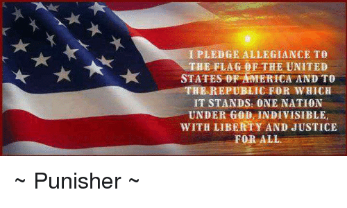 a pledge of allegiance to the united states of america Without a doubt this is familiar to everyone of us, young and old alike: i pledge allegiance to the flag of the united states of america and to the republic for which it stands, one nation.