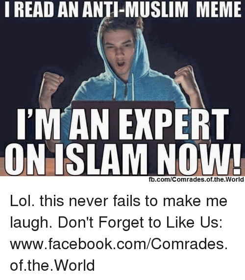 Funny Anti Muslim Memes Of 2017 On Sizzle