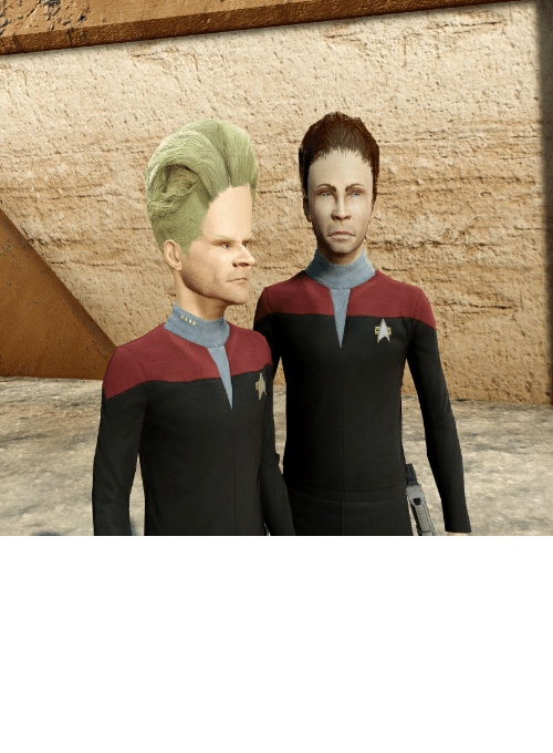 beavis: I saw someone crossposted my Borg Beavis from Star Trek Online recently, here's more.