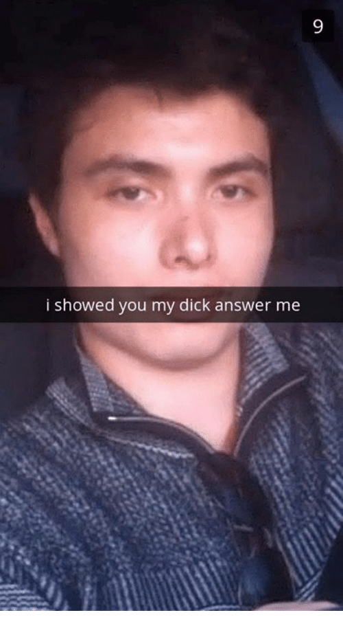 Can I Show You My Dick