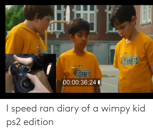 wimpy kid: I speed ran diary of a wimpy kid ps2 edition