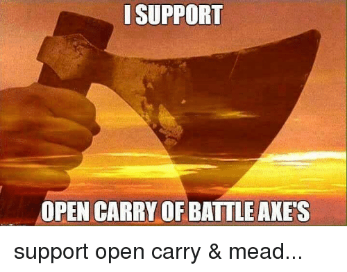 how to carry as support
