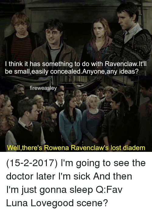 i think it has something to do with ravenclaw ltll be 14406795 🅱 25 best memes about rowena ravenclaw rowena ravenclaw memes