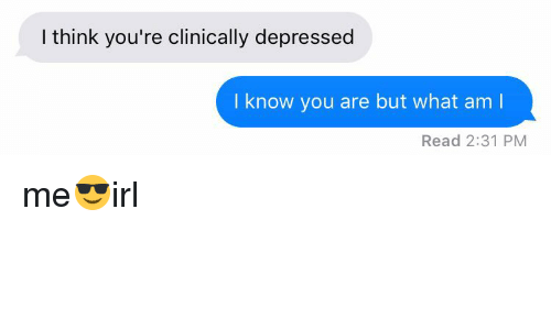 how to know if i am clinically depressed