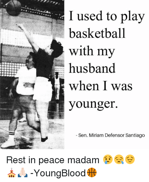 Miriam Defensor Santiago Quotes: Funny Husband Memes Of 2017 On SIZZLE