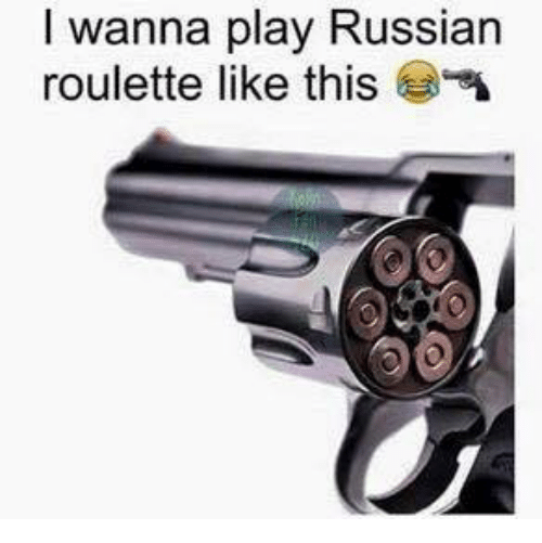 Russian roulette thesaurus