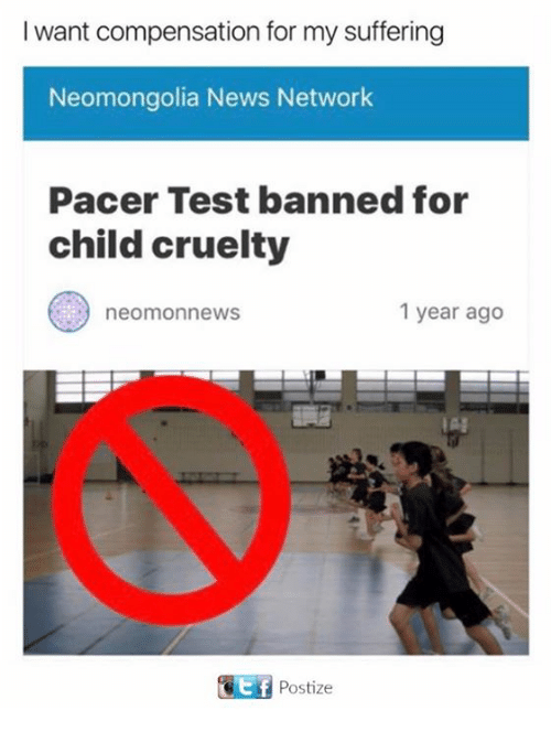 Pacer: I want compensation for my suffering  Neomongolia News Network  Pacer Test banned for  child cruelty  1 year ago  neom news  IA!  Postize