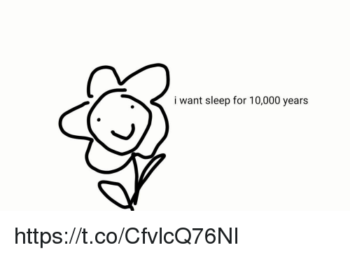 Girl Memes, Sleep, and For: i want sleep for 10,000 years https://t.co/CfvlcQ76NI
