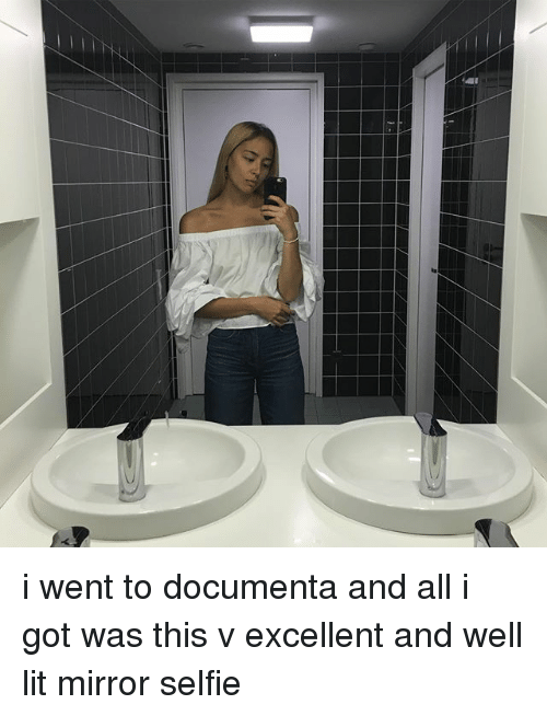 Lit, Memes, and Selfie: i went to documenta and all i got was