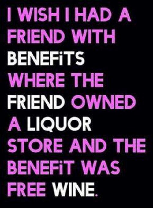 A friend with benefits