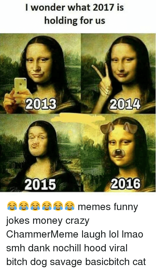 i wonder what 2017 is holding for us 2013 2014 9446646 🔥 25 best memes about funny jokes and cats funny jokes and cats