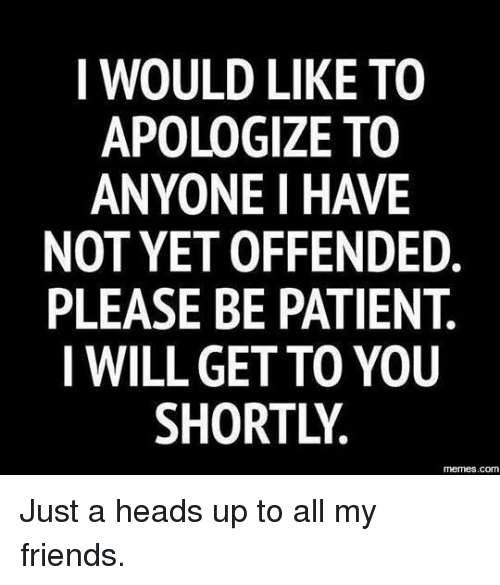 patient apology Find apology and disclosure guidance for medical professionals at the  with the patient, and it may continue until well after the patient has been discharged.