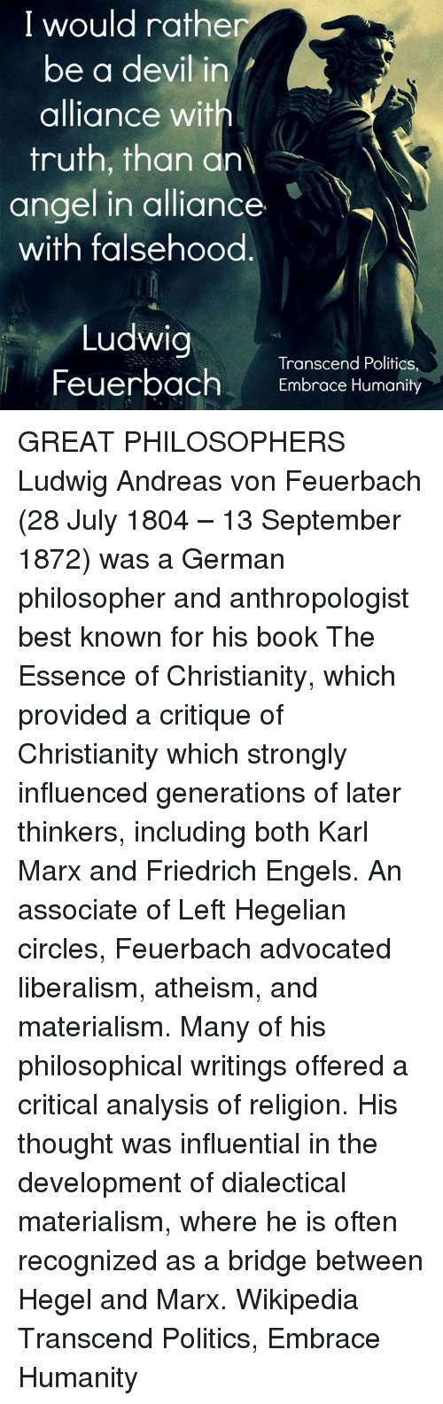 karl marx a great thinker and philosopher