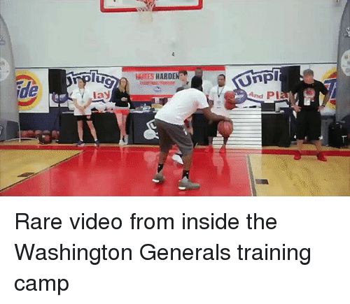 James Harden Basketball Camp: IAMES HARDEN Rare Video From Inside The Washington