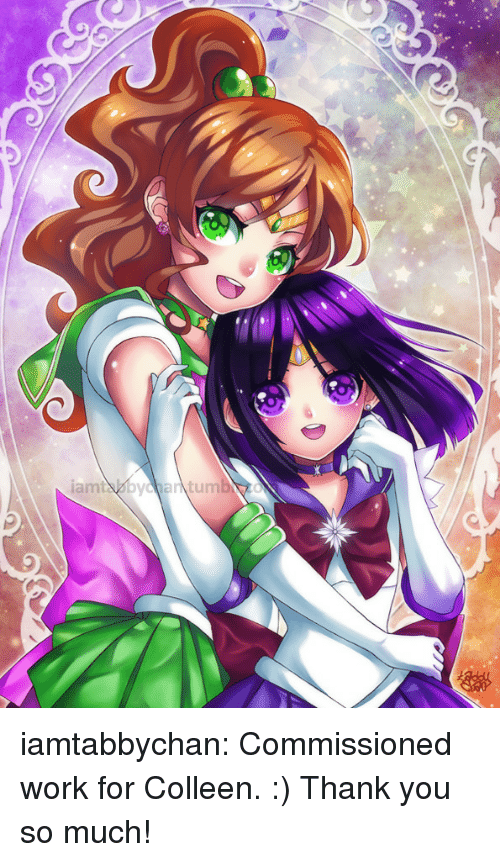 Colleen: iamtabbychan:  Commissioned work for Colleen. :) Thank you so much!