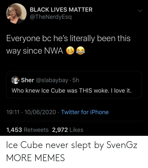 ice: Ice Cube never slept by SvenGz MORE MEMES