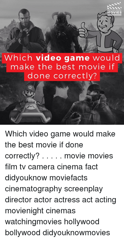 knowing movie: ID YOU KNOW  MOVIES  Which video game would  make the best movie if  done correctly? Which video game would make the best movie if done correctly? . . . . . movie movies film tv camera cinema fact didyouknow moviefacts cinematography screenplay director actor actress act acting movienight cinemas watchingmovies hollywood bollywood didyouknowmovies