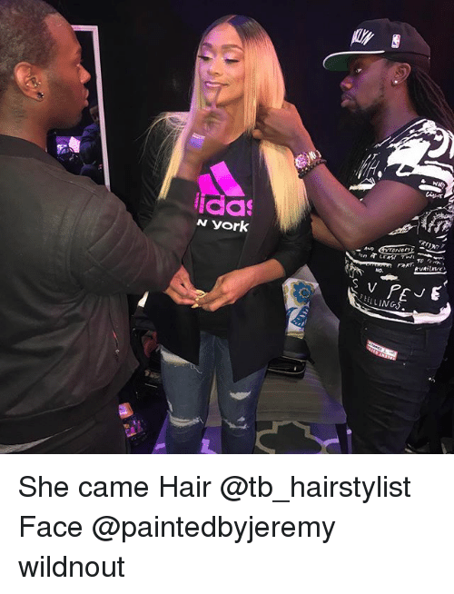 Hairstylist: ida  AND  EELLINGS. She came Hair @tb_hairstylist Face @paintedbyjeremy wildnout
