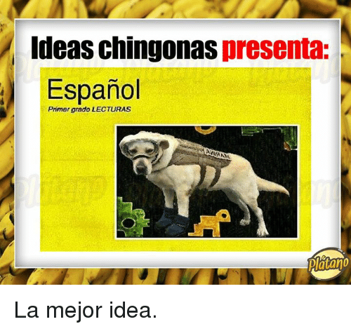 Espanol, Idea, and Primer: Ideas chingonas presenta:  Espanol  Primer grado LECTURAS  Piatano La mejor idea.