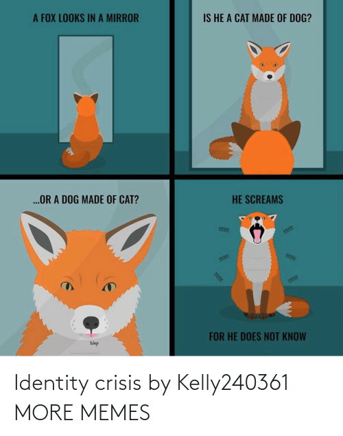 identity: Identity crisis by Kelly240361 MORE MEMES
